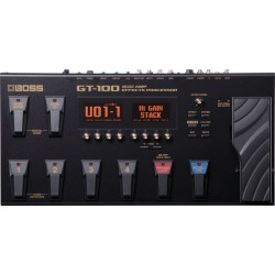Boss GT-100 - Pédalier Multi-effet Guitare