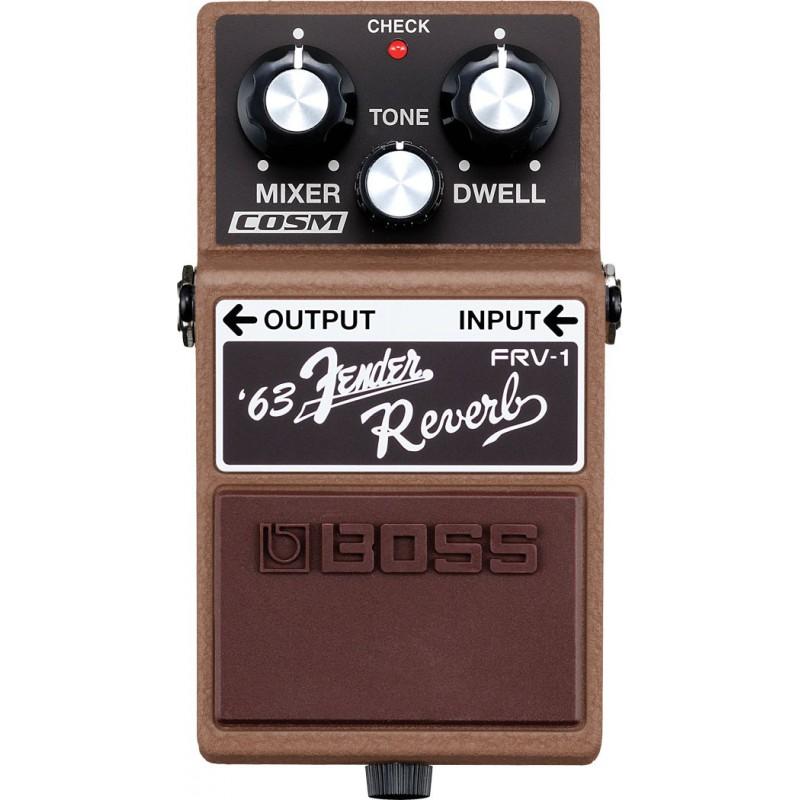 Boss FRV-1 '63 Fender® Reverb - Pédale Reverbe