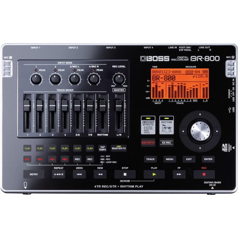 Boss BR-800 - Enregistreur Numérique 8 Pistes