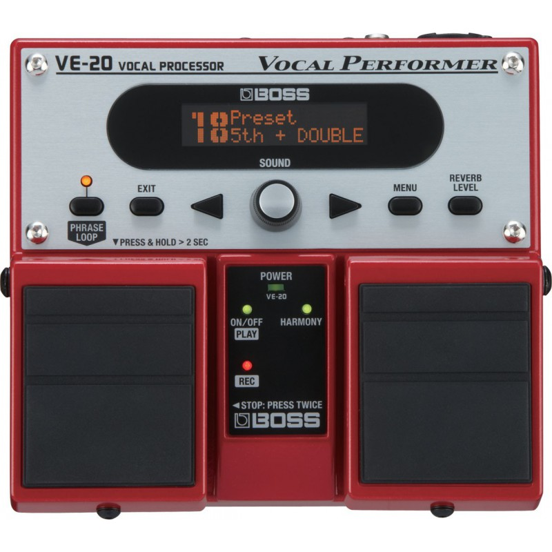 Boss VE-20 - Vocal Processor