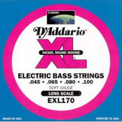 D'addario EXL170 Long Scale 45-100