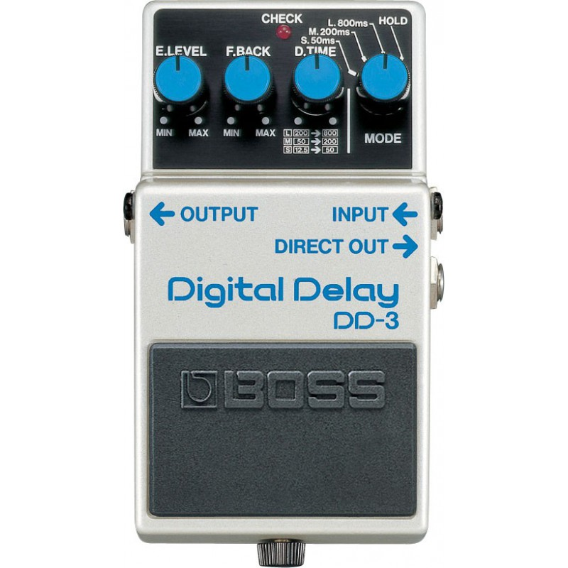 Boss DD-3 Digital Delay - Pédale Delay