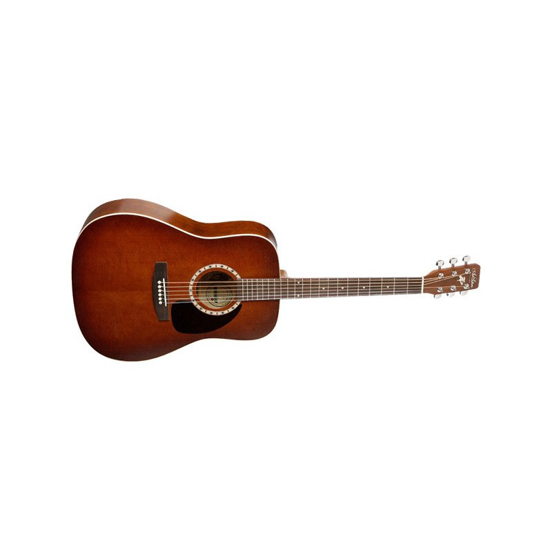Art & Lutherie Dreadnought Antique Burst Satiné
