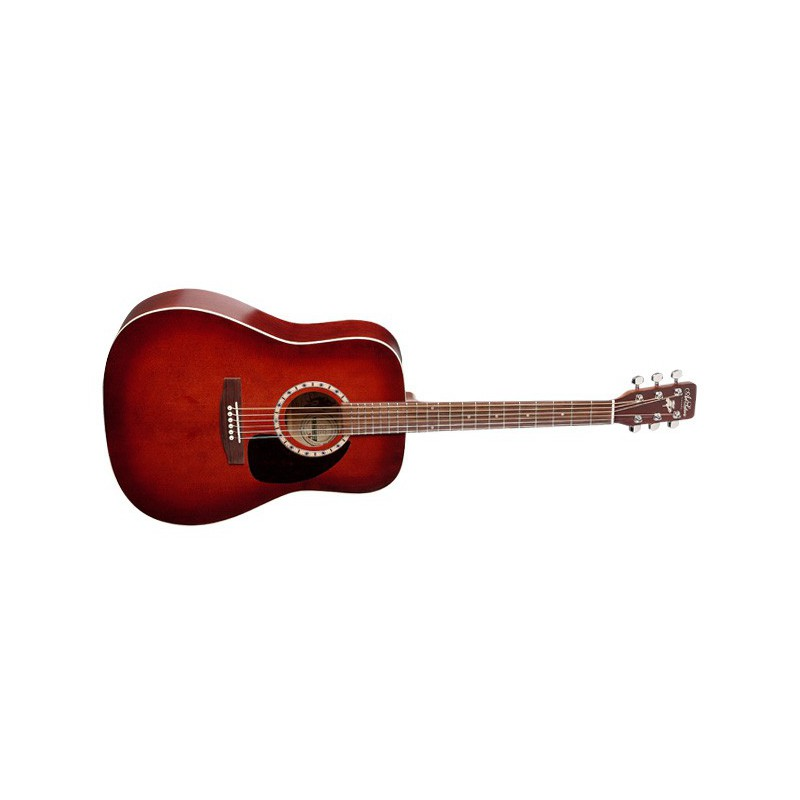 Art et Lutherie Dreadnought Burgundy Satiné