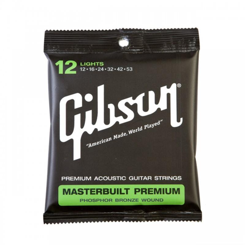 Gibson Masterbuilt Premium 12-53 - Cordes Guitare Acoustique