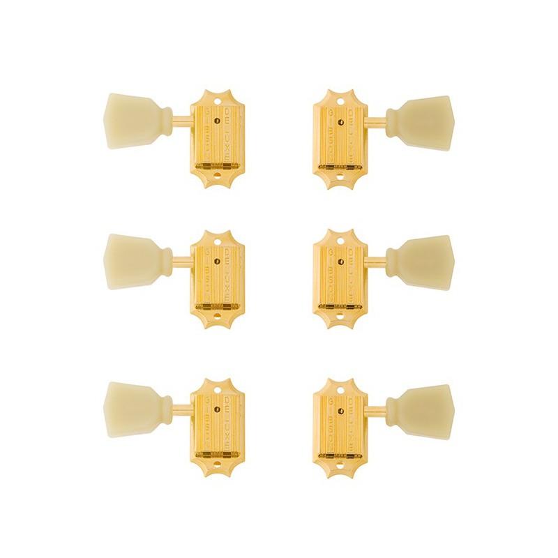Gibson Vintage Gold Pearloid Buttons PMMH-020 - Mécaniques