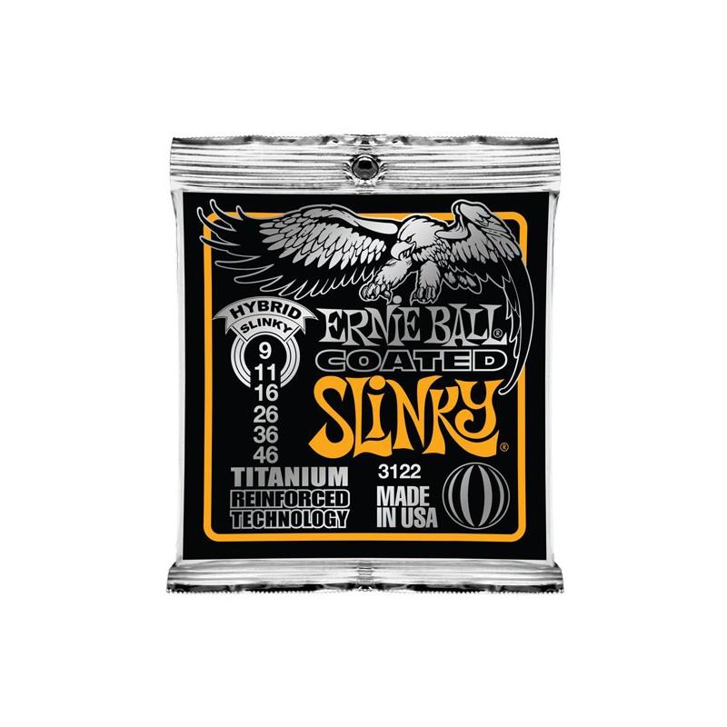 Ernie Ball Hybrid Slinky® Titanium 09-46