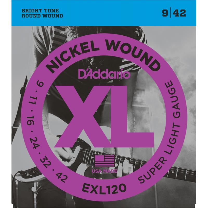 D'addario EXL120 09-42