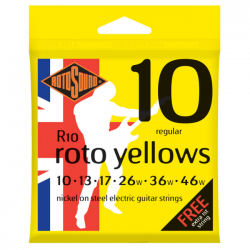 Rotosound R10 Roto Yellows Regular 10-46