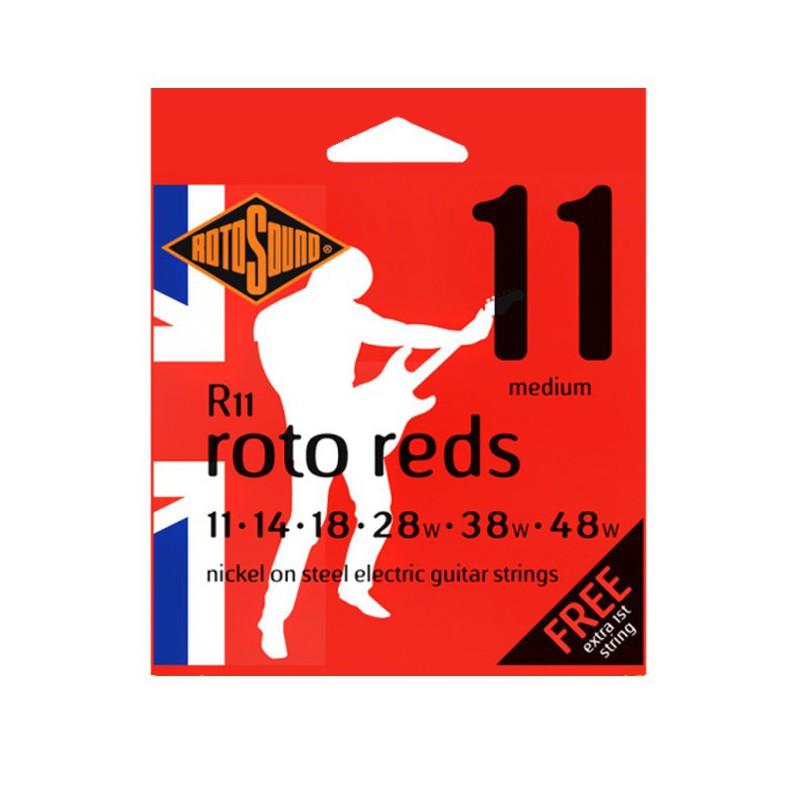 Rotosound R11 Roto Reds Medium 11-48