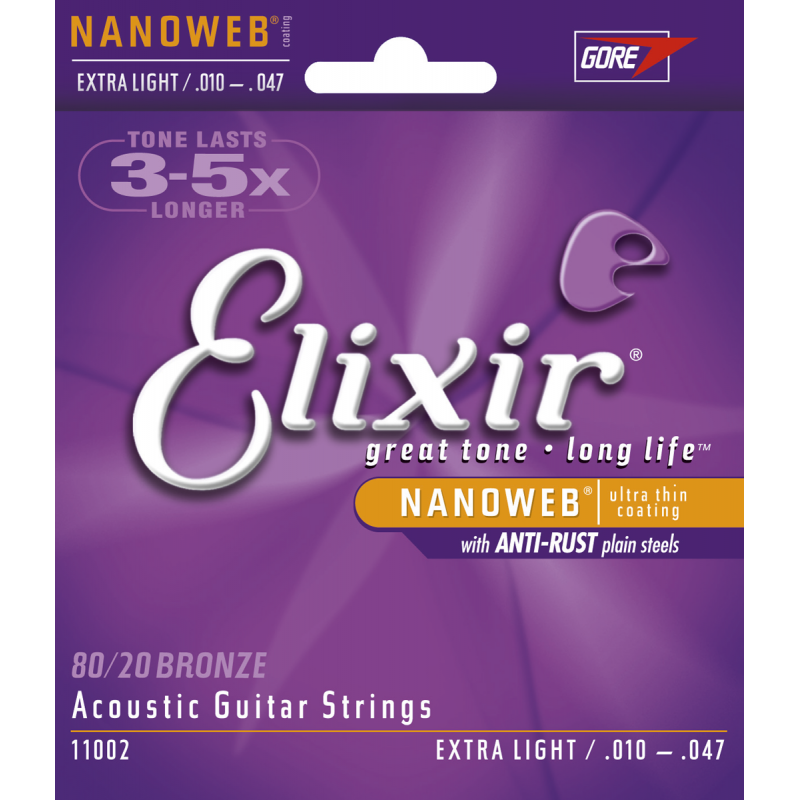 Elixir NanoWeb Extra Light 10-47