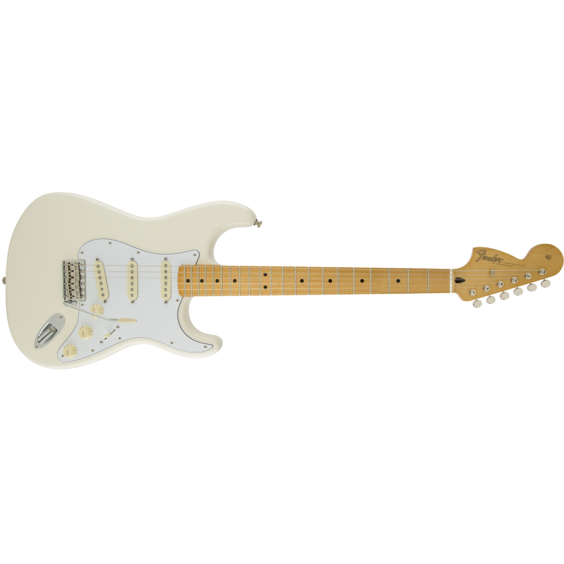 Fender Stratocaster® Jimi Hendrix Olympic White Maple
