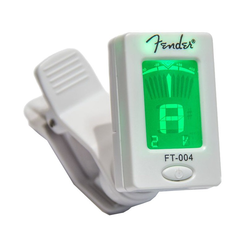 Fender FT-004 WH - Accordeur Chromatique - 023-9977-002