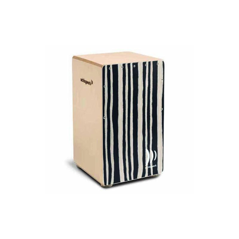 Schlagwerk Agile Cajon - Zebra