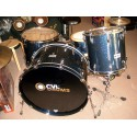 Drum Set Custom Châtaignier Blue Night Sparkle