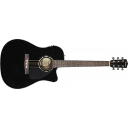 CD-140SCE - Dreadnought Cutaway Black Satin