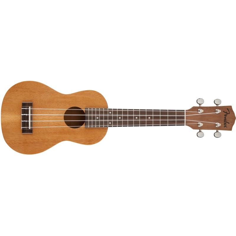 Fender Piha'eu Soprano Ukulélé Natural