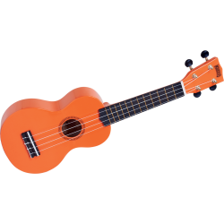 Ukulélé MR1 Soprano Orange Brillant + Housse