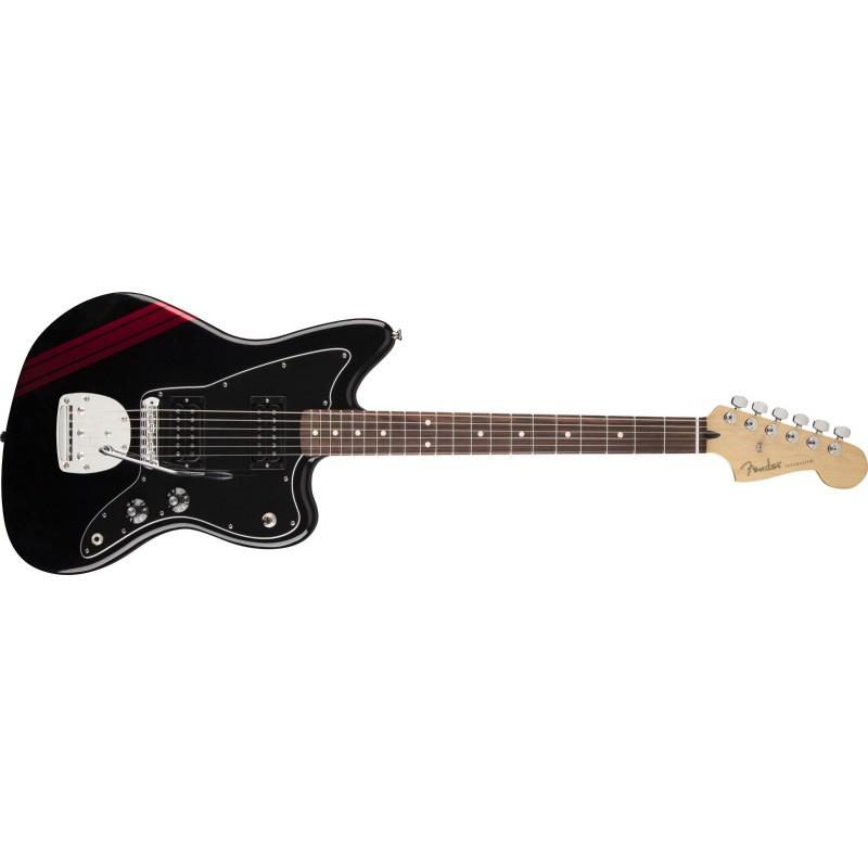 Fender Jazzmaster® Blacktop Special Edition HH Stripe