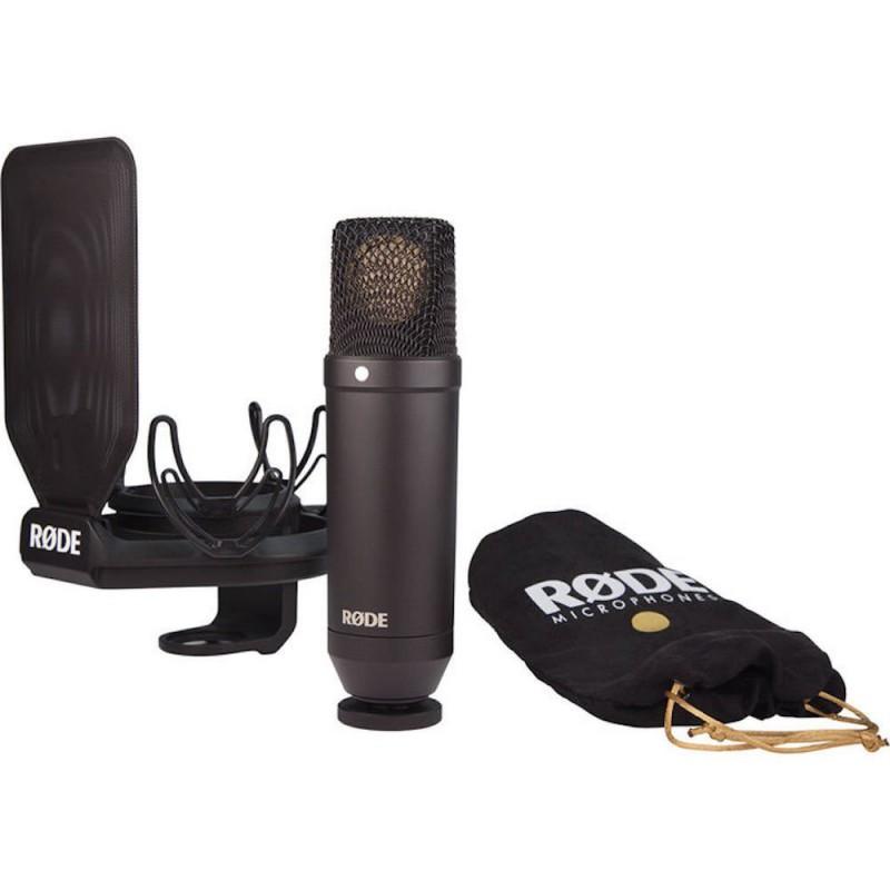 "Rode NT1 KIT Microphone cardioïde à condensateur 1"""