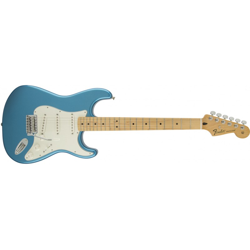 Fender Stratocaster® Standard Maple Lake Placid Blue