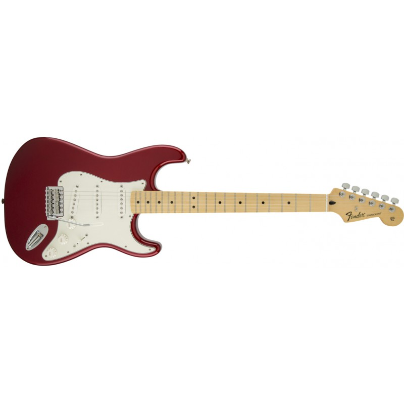 Fender Stratocaster® Standard Candy Apple Red Maple