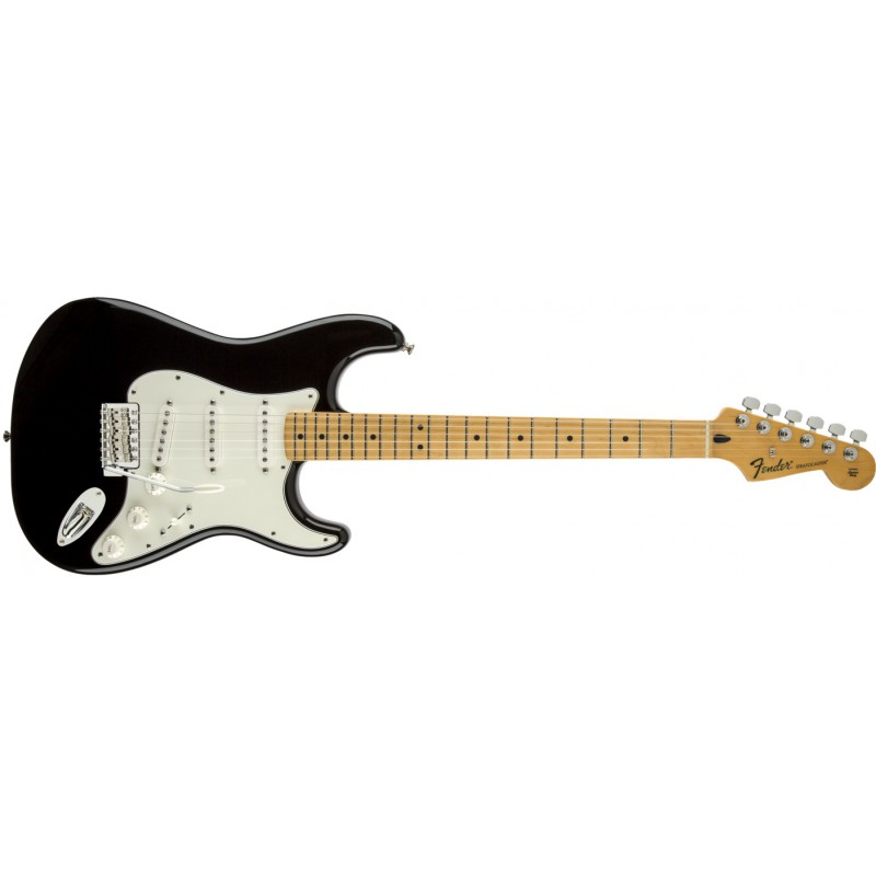 Fender Stratocaster® Standard Maple Black