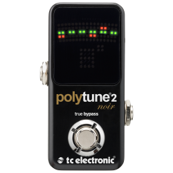 Polytune™ 2 Mini Noir - Accordeur Chromatique