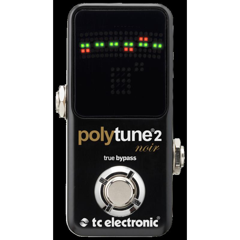 TC Electronic Polytune™ 2 Mini Noir - Accordeur Chromatique