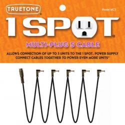1 Spot Multi-Plug 5 Cable - Multiprise 5 Sorties DC