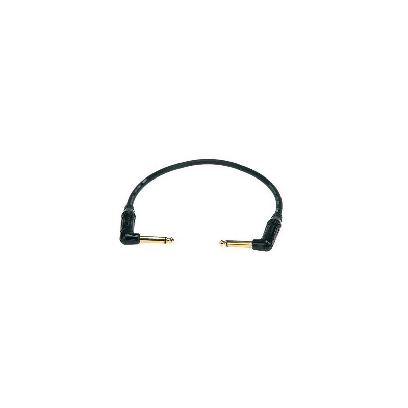 KIK-A Cable Patch Coudé Pedal Boards 0.15m