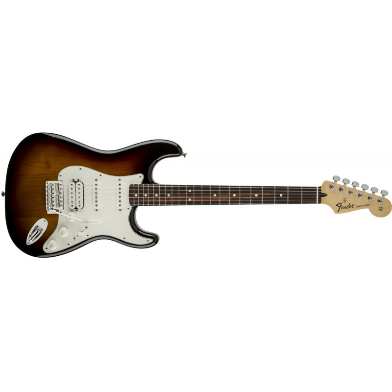 Fender Stratocaster® Standard HSS Brown Sunburst Rosewood