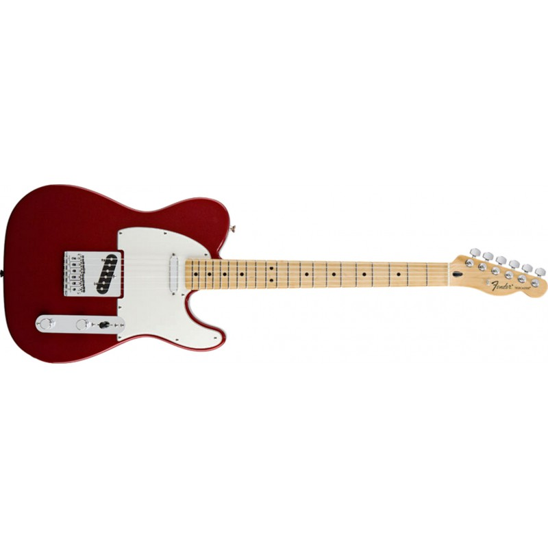Fender Telecaster Standard Candy Apple Red Maple