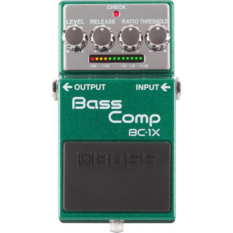 Boss BC-1X - Bass Comp - Pédale Compresseur Multibande Basse