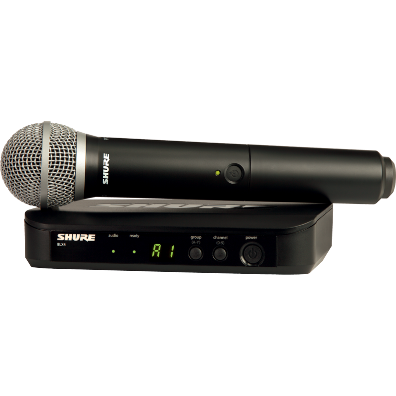 Shure Système HF Simple Main PG58 Bande M17