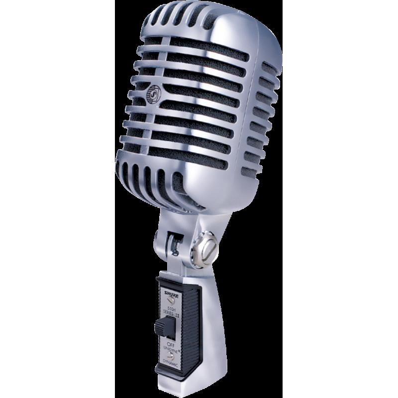 Shure 55SH Micro Voix Tête de mort dynamique cardioïde