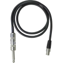 Câble WA302 TQG-Jack 6,35mm pour émetteur