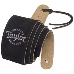 Suede Noir 62001 Logo Taylor - Sangle en Daim