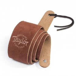 Suede Chocolat 62003 Logo Taylor - Sangle en Daim