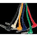 Câble Coudé Jack/Jack Mono 30cm x6