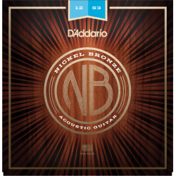 D'Addario NB1253 Nickel Bronze Light 12-53