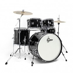 "Gretsch Drums Energy GE1 Fusion 20"" Black + Sabian SBR"