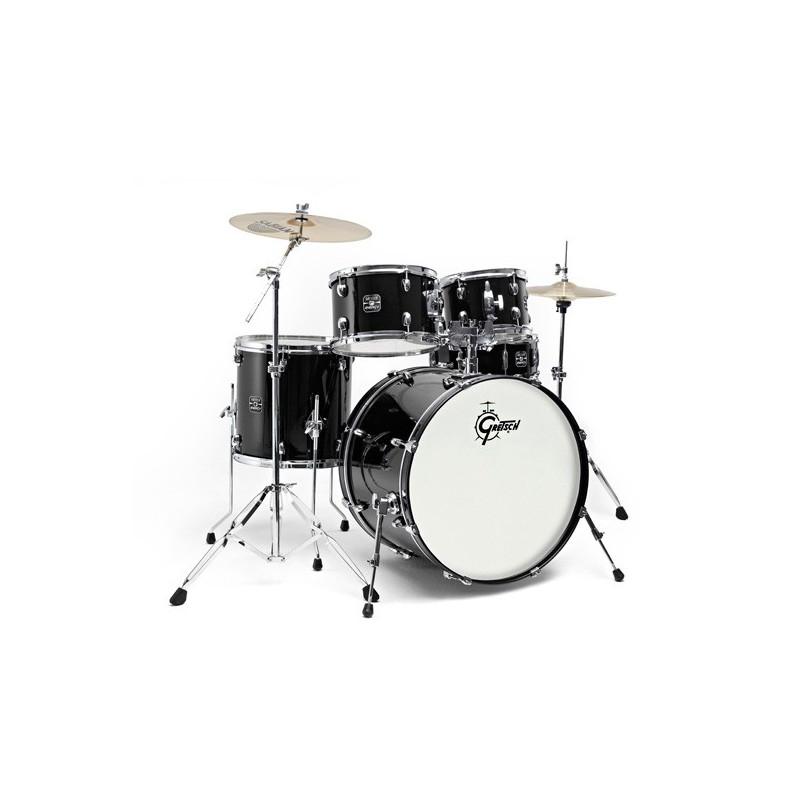 """Gretsch Drums Energy GE1 Fusion 20"""" Black + Sabian SBR"""