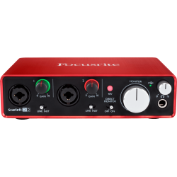 Focusrite Scarlett 2I2 2nd Gen - 2 In / 2 Out