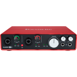 Focusrite Scarlett 6i6  2nd Gen 6 In / 6 Out - Carte Audio USB 6 Entrées / 6 Sorties