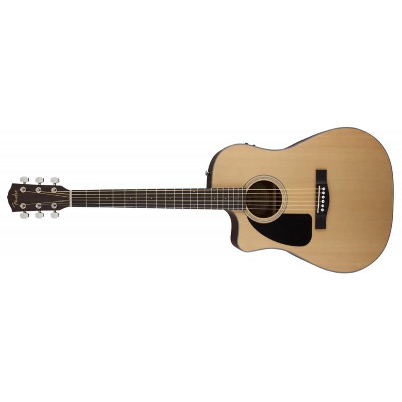 Fender CD-100CE Natural - Gaucher