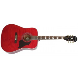 Epiphone Hummingbird Artist Wine Red - Limited Edition