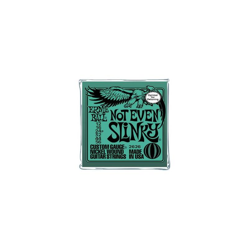 Ernie Ball Not even Slinky® 12-56