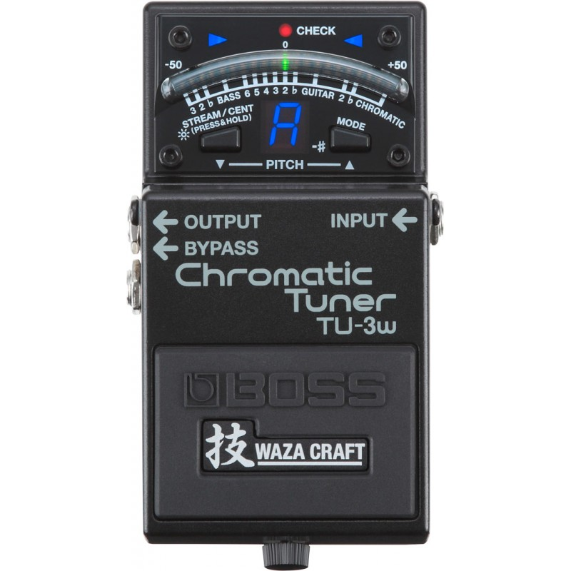 Boss TU-3W Waza - Pédale Accordeur Chromatique