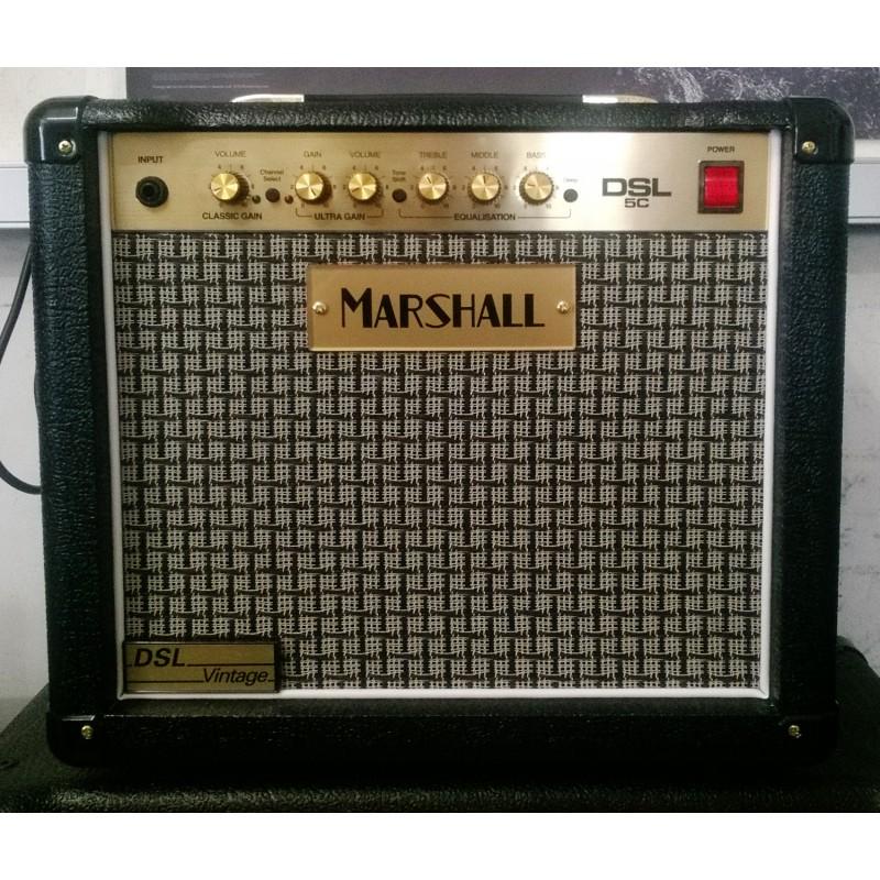 Marshall DSL5CV - Combo DSL 5 Watts Vintage